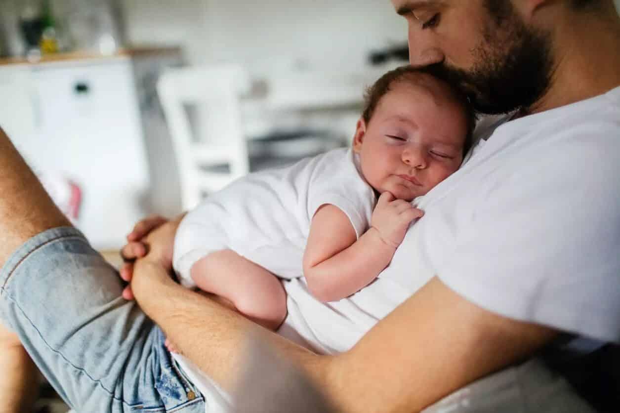 حمایت های عملی پدران از همسر خود در فرآیند شیردهی نوزاد